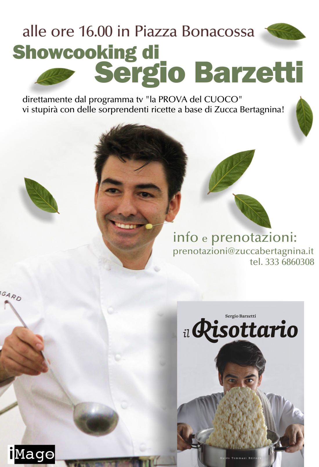 Sergio Barzetti alla Sagra della Zucca